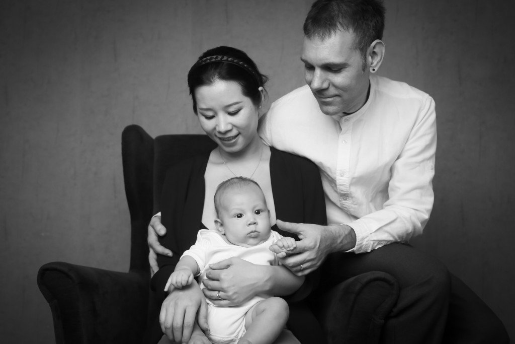 Ethann, 3 months, Ying & Jarome
